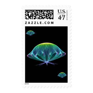 Fractal Jellyfish Postage