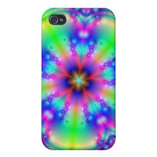 Fractal Jenniflower #4 iPhone 4/4S Case
