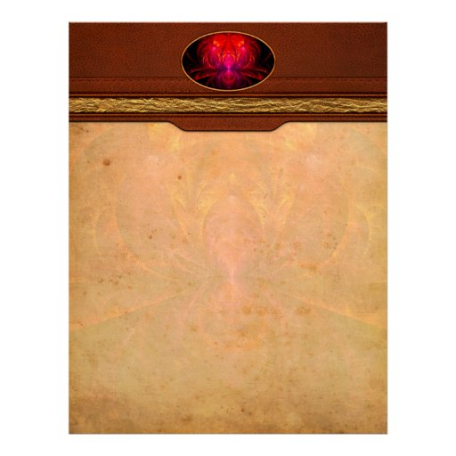 Fractal - Jewel of the Nile Personalized Letterhead