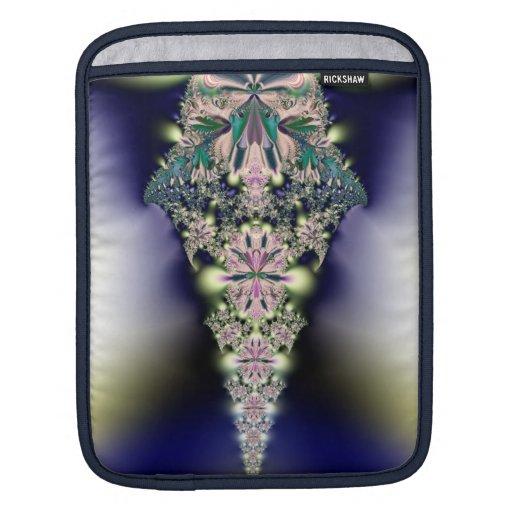 Fractal Jeweled del carámbano Fundas Para iPads