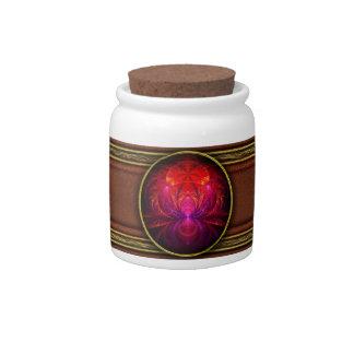 Fractal - joya del Nilo Platos Para Caramelos