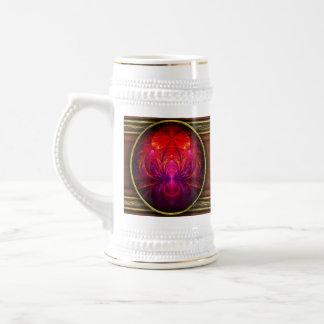 Fractal - joya del Nilo Taza De Café