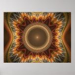 Fractal juliano magnífico 21 del arte del fractal impresiones