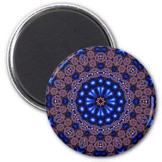 Fractal Kaleidoscope Art 670 Fridge Magnets