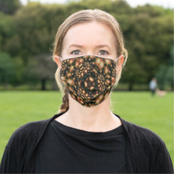 Fractal Kaleidoscope Face Mask