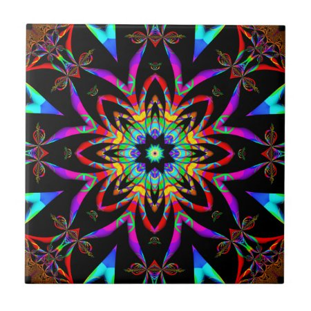 Fractal Kaleidoscope tile
