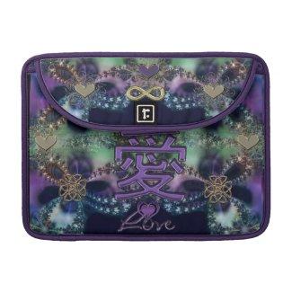 Fractal Lace Eternal Love Symbolic Laptop Sleeve Sleeves For MacBooks
