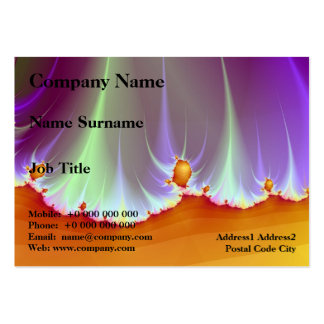 Fractal Landscape Chubby Business Card Pack Of Chubby Business Cards
