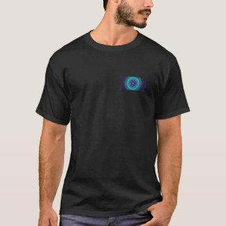 Fractal (Lavender Mint Bar) Front-Back Men's T T-Shirt