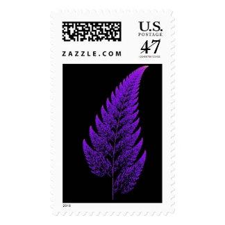Fractal leaf postage
