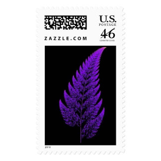 Fractal leaf stamps
