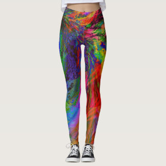 Fractal Leggings, Doppler Leggings