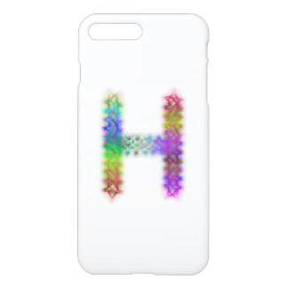 Fractal letter H monogram iPhone 8 Plus/7 Plus Case