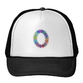 Fractal letter O monogram Trucker Hat