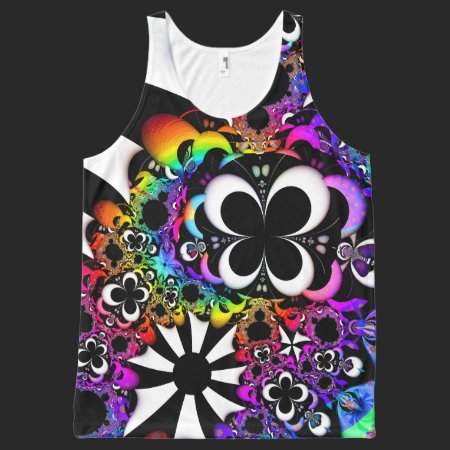 Fractal Life All-Over Print Tank Top