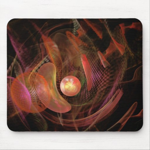 Fractal - Life Origins Mouse Pad