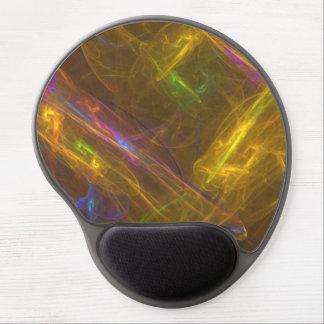 Fractal Light Ergonomic Gel Mousepad