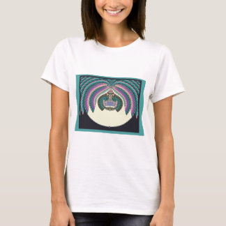Fractal Lignt and Lampshade T-Shirt