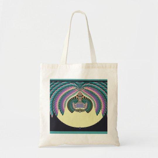Fractal Lignt and Lampshade Tote Bag