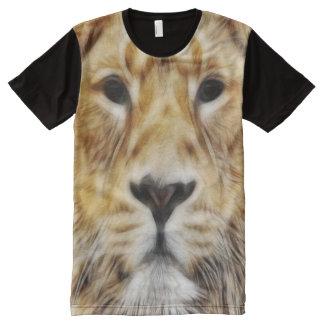 Fractal Lion All-Over-Print Shirt