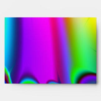 Fractal listo del arco iris sobre