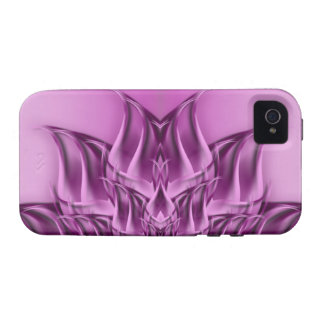 Fractal Lotus Flower Abstract iPhone 4 Covers