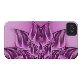 Fractal Lotus Flower Abstract iPhone 4 Case-Mate Case