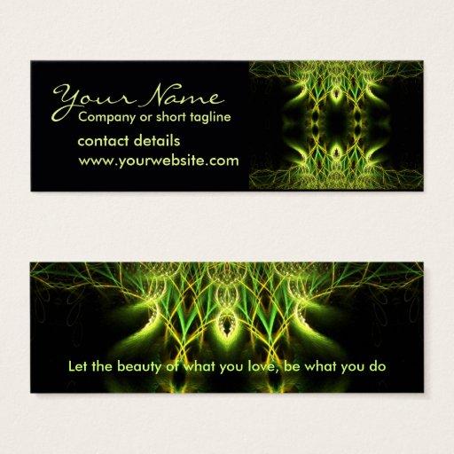 Fractal Lotus Profile Card