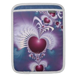Fractal Love Hearts Rickshaw iPad Sleeve