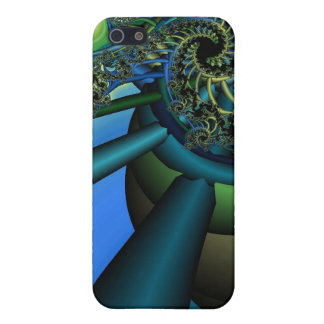 Fractal Machine iPhone SE/5/5s Cover