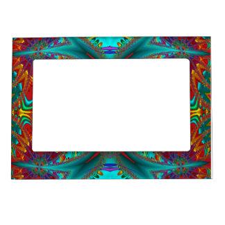 fractal magnet frame photo frame magnet