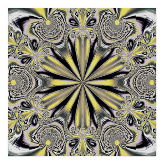 Fractal Mandala 4 Poster