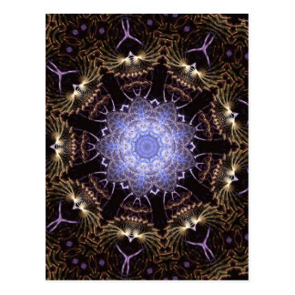 Fractal Mandala #65 Postcard