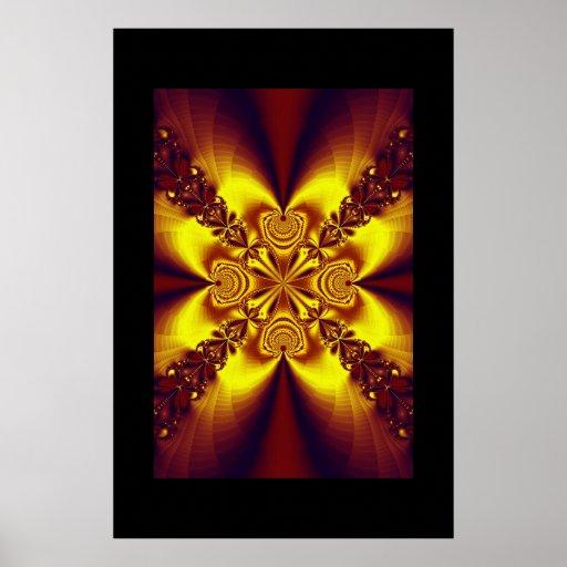 Fractal Mandala 6 Poster