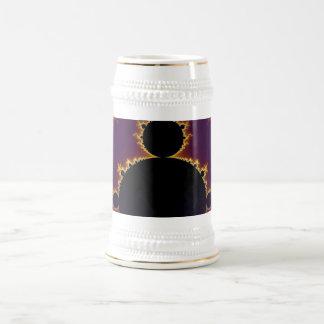 Fractal Mandelbrot Beer Stein
