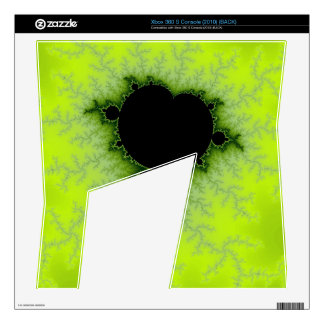 Fractal Mandelbrot Green Decal For The Xbox 360 S