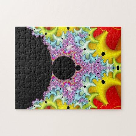 Fractal Mandelbrot Multicolor Jigsaw Puzzle