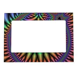 Fractal maravilloso marcos magnéticos de fotos