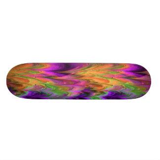 Fractal Marble 4-1 Skate Board Deck