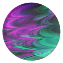 Fractal Marble 4-2 Plate