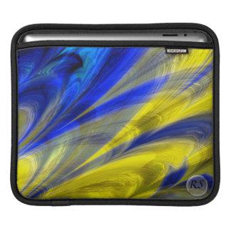 Fractal Marble 4-6 iPad Sleeve