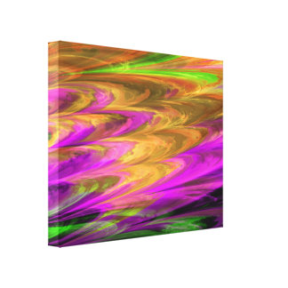 Fractal Marble 4-7 Wrapped Canvas Canvas Prints