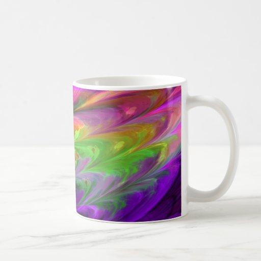 Fractal Marble 4-8 Coffee Mug