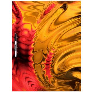 Fractal Marble 5-1 Dry-Erase Board