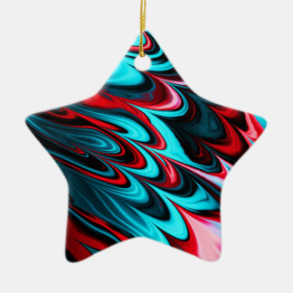 Fractal Marble 6-2 Christmas Tree Ornaments