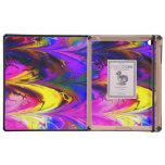 Fractal marble 7A DODO iPad Folio Cases