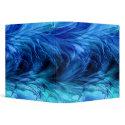 Fractal Marble Blue Binder binder