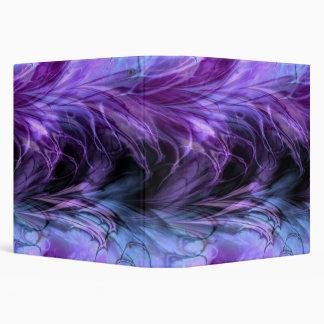 Fractal Marble Purple Binder