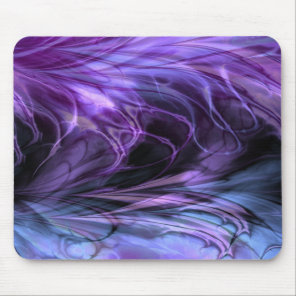 Fractal Marble  Purple Mousepad