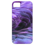 Fractal Marble PurpleiPhone 5 Barely There Case iPhone 5 Cover